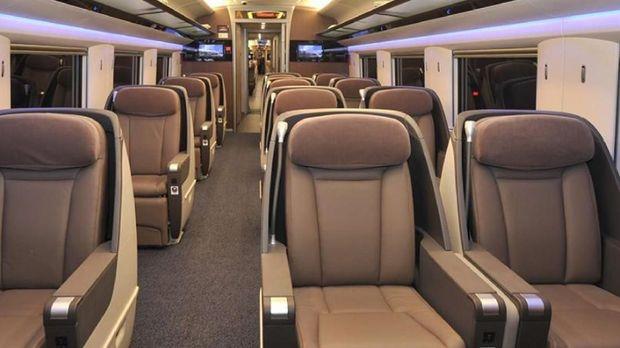 Keren! Begini Mewahnya Kereta Cepat Jakarta-Bandung China