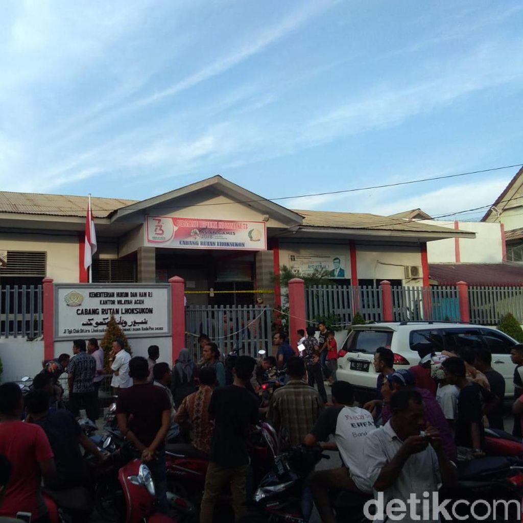 Rusuh di Rutan Lhoksukon Aceh Utara, Sejumlah Napi Kabur