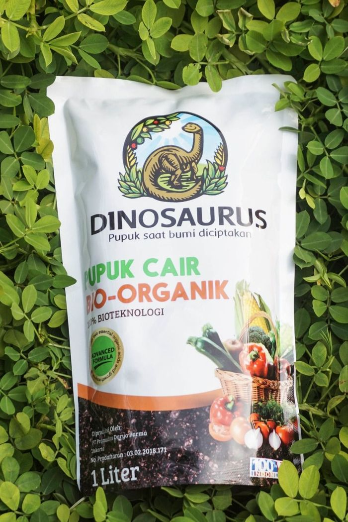Foto: Pupuk Hayati Dinosaurus (Istimewa/Pupuk Hayati Dinosaurus)