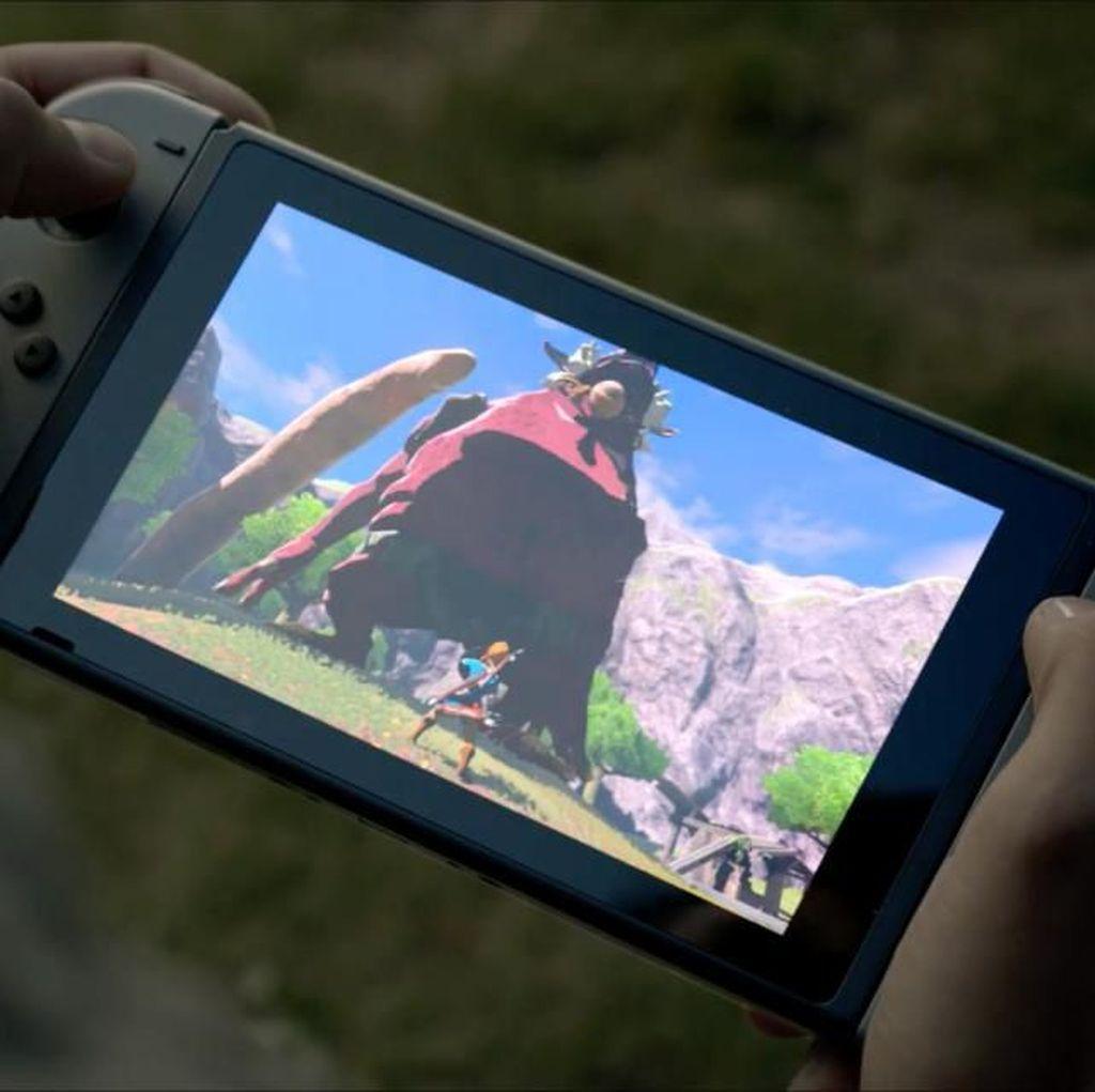 Nintendo Switch Anyar Lebih Awet Baterai