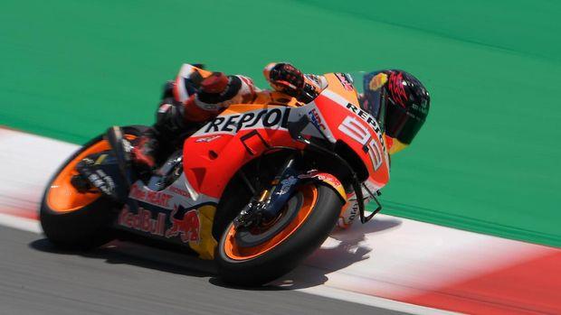 Jorge Lorenzo menciptakan kontroversi di MotoGP Catalunya 2019.