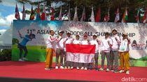 Unnes Sabet 3 Emas dalam Pertandingan Woodball Internasional di Korsel