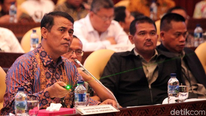 Mentan Amran Sulaiman (Lamhot Aritonang/detikcom)