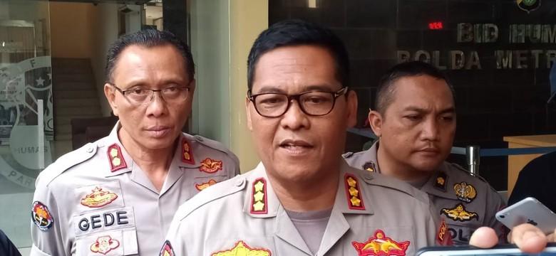 Polda Metro Jaya: Bukan Gudang Peluru yang Terbakar