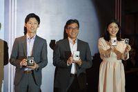 Acara peluncuran Fuji Instax Mini Liplay di KAUM, Menteng, Jakarta Pusat.