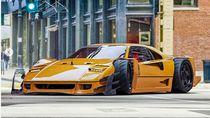 Ferrari F40 Didesain Jadi Super Garang