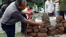 Ini Penampakan Arca Ganesha yang Ditemukan di Kediri
