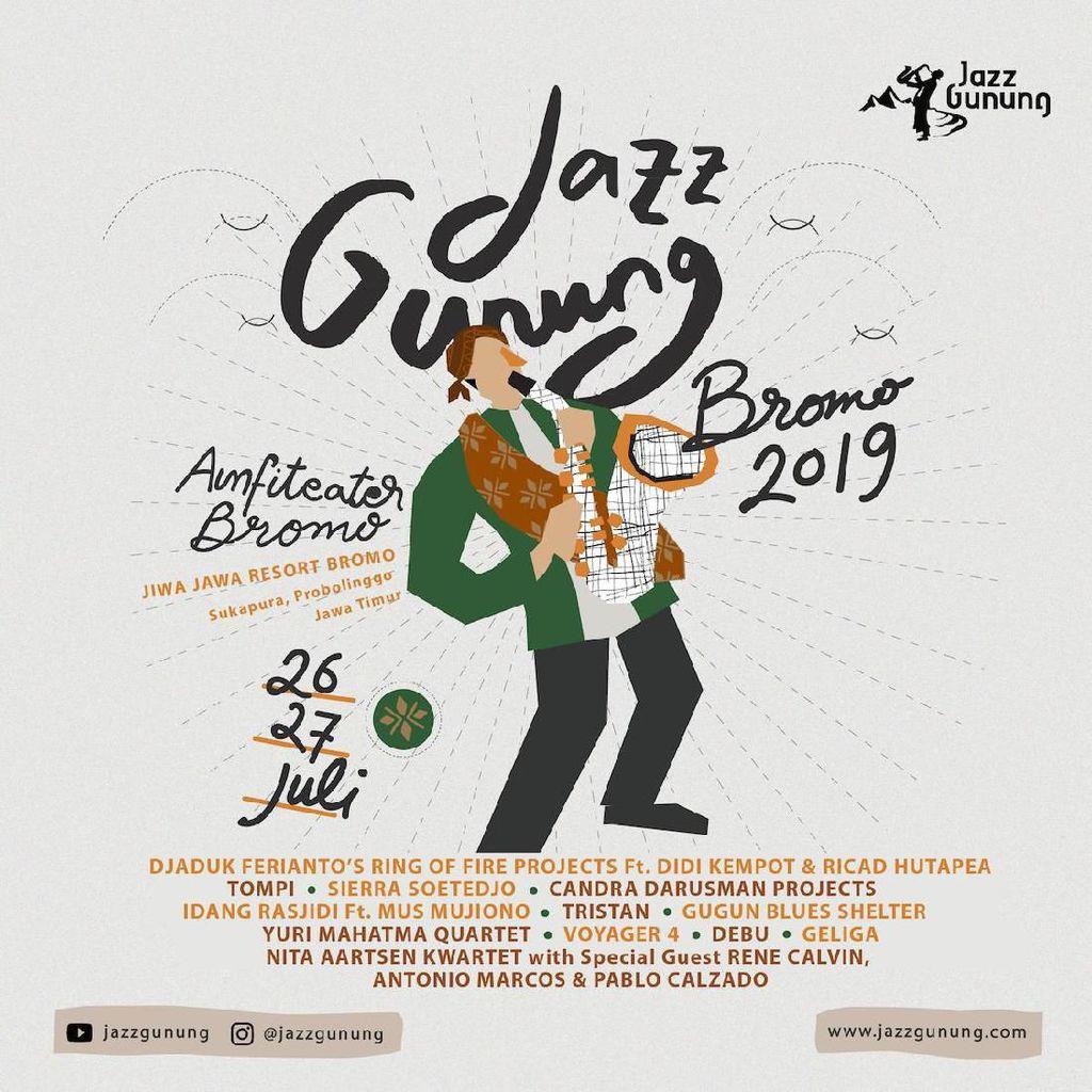 Jazz Gunung Mengalun Lagi Juli dan September 2019, Siapa Line Up-nya?
