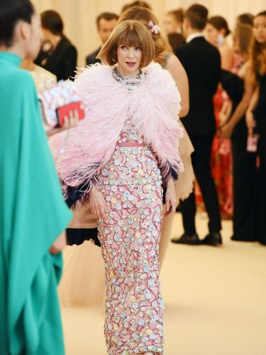 NEW YORK, NEW YORK - MAY 06: Anna Wintour attends The 2019 Met Gala Celebrating Camp: Notes on Fashion at Metropolitan Museum of Art on May 06, 2019 in New York City. (Photo by Dimitrios Kambouris/Getty Images for The Met Museum/Vogue)