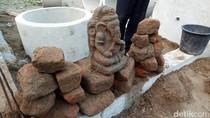 Warga Kediri Diminta Ikut Jaga Arca Ganesha yang Baru Saja Ditemukan