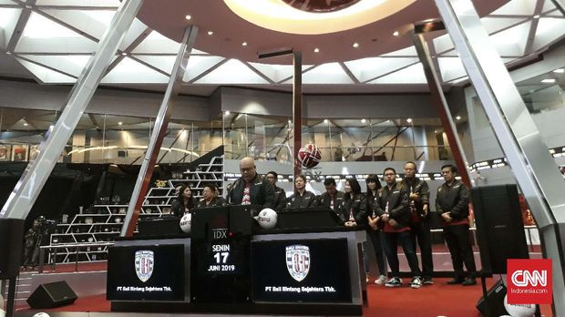 Bali United melakukan IPO pekan lalu.