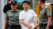 Pegiat Muda Demokrasi Hong Kong Joshua Wong Dibebaskan Lebih Awal