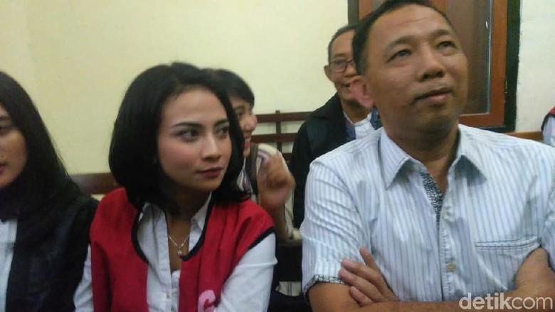 Vanessa Angel Siap Apapun Putusan Hakim