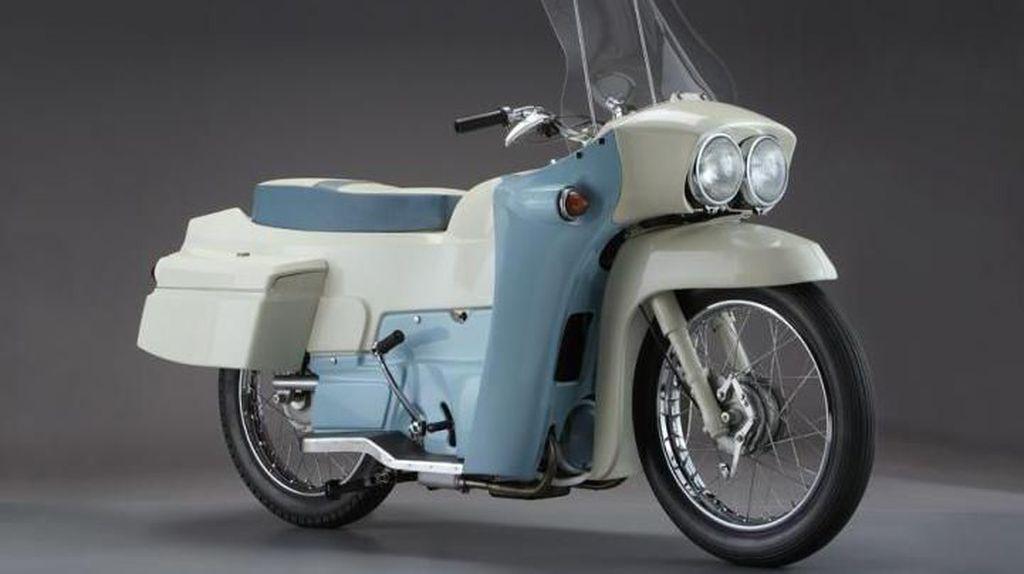 Motor Klasik dengan Engkol Sepeda, Harganya Wow! Rp 300 Jutaan