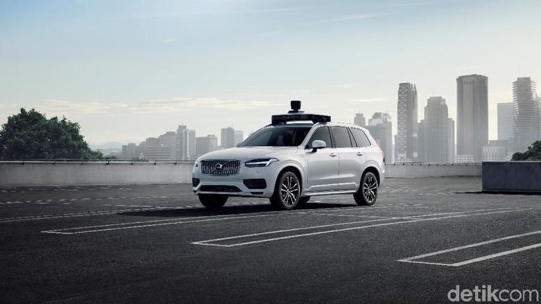 Mobil tanpa sopir Uber/Volvo sudah siap produksi Foto: Volvo