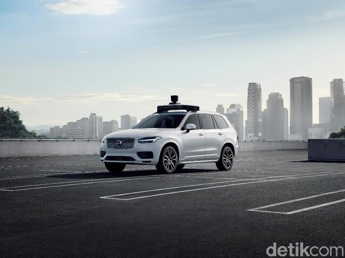 Mobil otonom Uber. Foto: Volvo