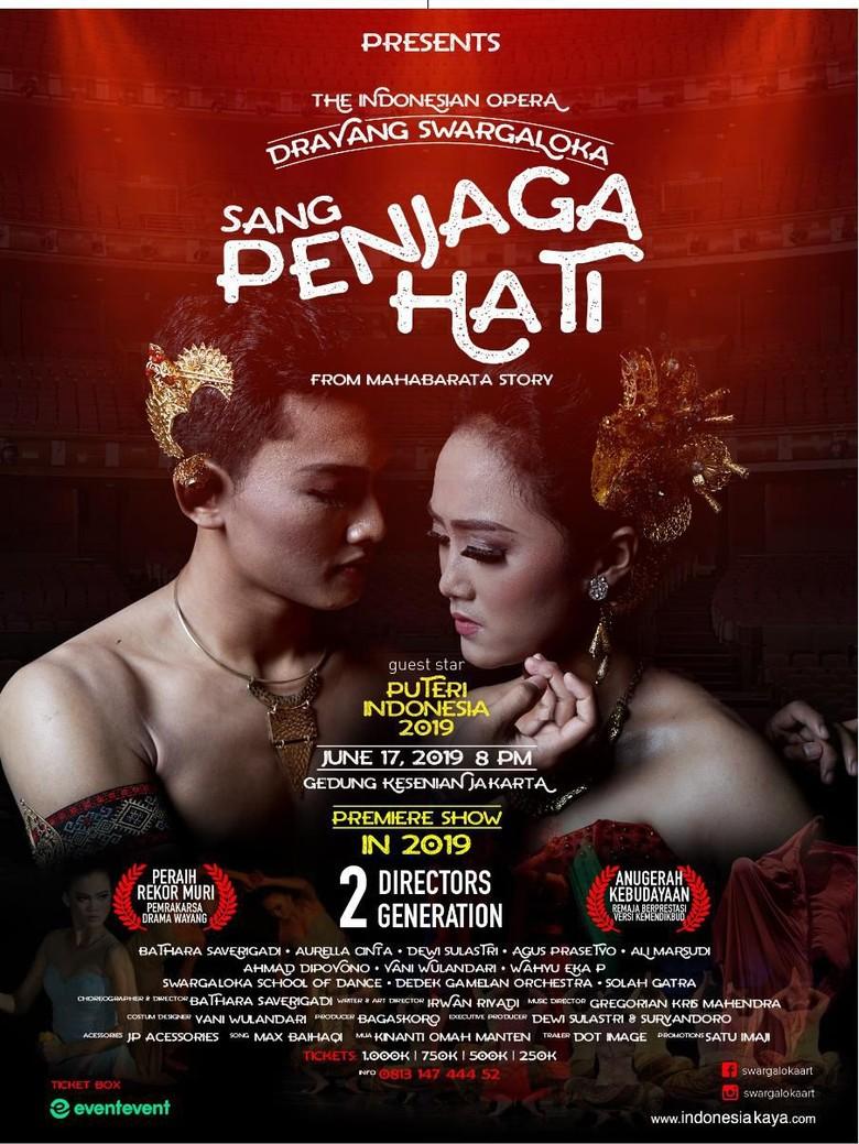 Drama Wayang Sang Penjaga Hati Siap Memikat Penonton Milenial Foto: Swargaloka/ Istimewa