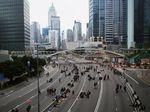 Demonstran RUU Ekstradisi Masih Kuasai Ruas Jalan Utama Hong Kong