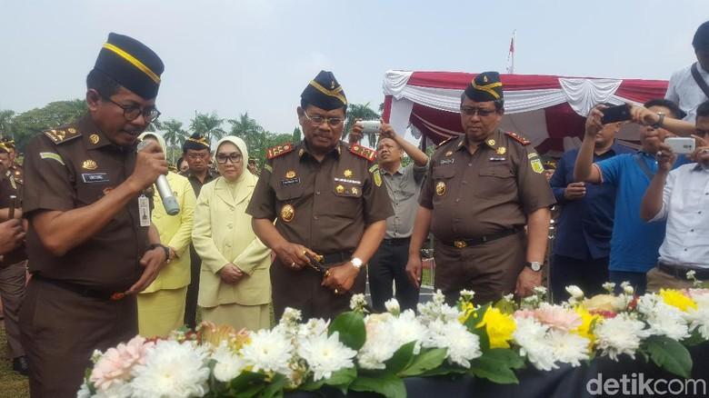 Jaksa Agung Singgung Isu SARA Pasca-Pemilu di HUT Persatuan Jaksa