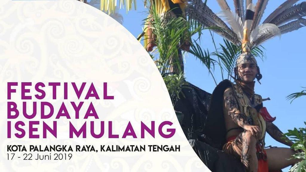 Festival Isen Mulang 2019 Tampilkan Warna Budaya Suku Dayak