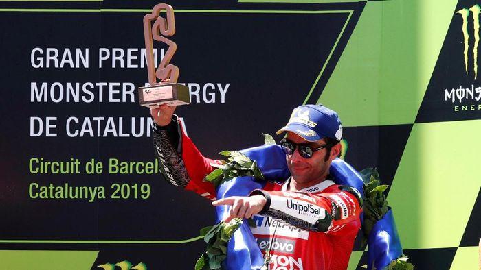 Dengan podium ketiga beruntun Danilo Petrucci berharap kontrak baru dari Ducati. (Foto: Albert Gea / Reuters)