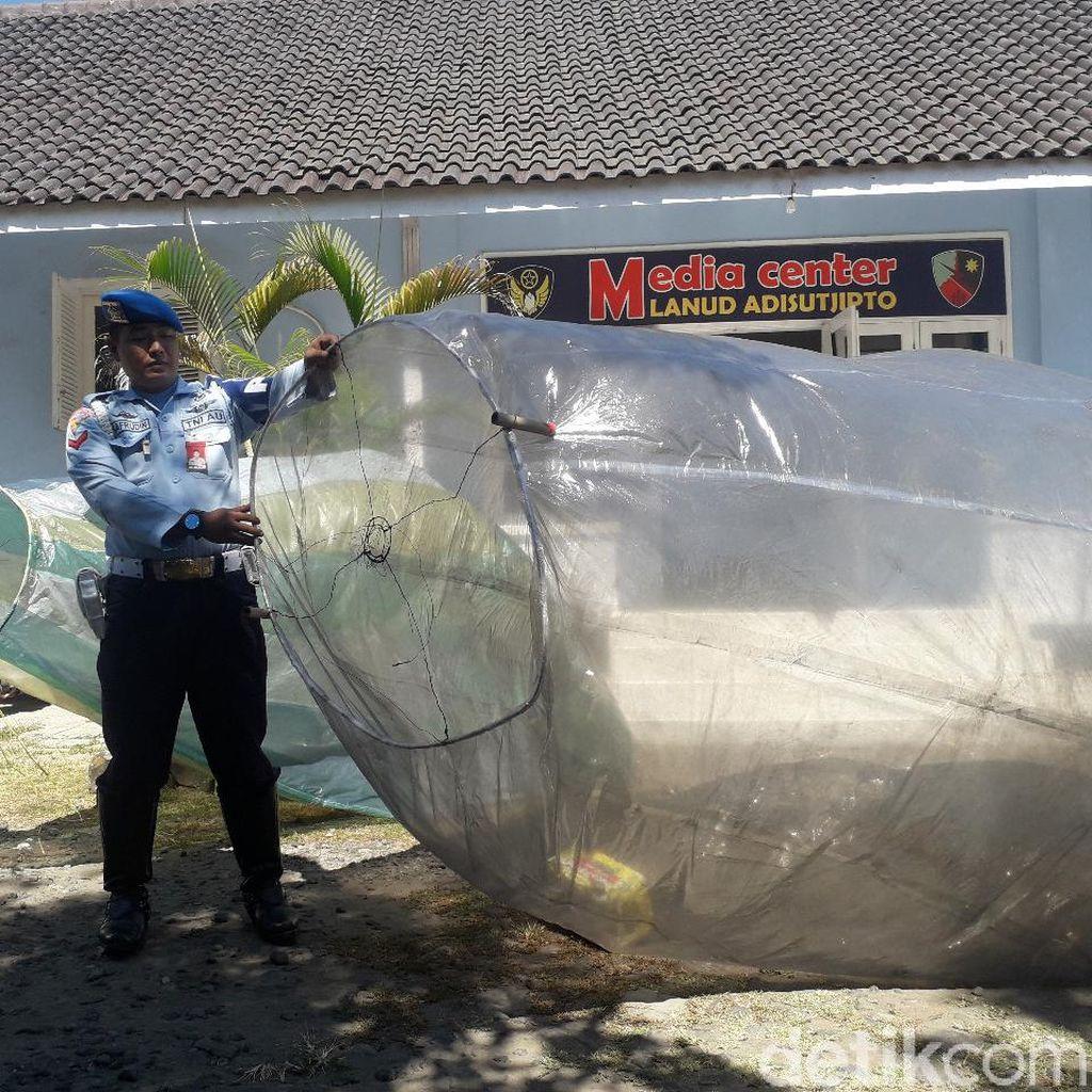 Balon Udara Liar Masih Mengancam Penerbangan di Langit Yogya