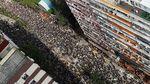 Potret Lautan Massa Tolak RUU Ekstradisi di Hong Kong
