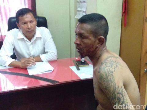 Safrizal Saputra (42), napi dalang kerusuhan di Rutan Lhoksukon ditangkap