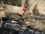 Kebakaran di Cimahi, 12 Ekor Kambing Hangus Terbakar