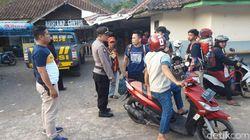 Polisi Tertibkan Preman Kampung yang Palak Pendaki Gunung Guntur Garut