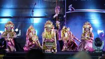 Meriahnya Tari Gending Sriwijaya di Pembukaan Festival Sriwijaya
