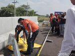 Polisi Duga Potongan Kaki di Tol Kertosono-Nganjuk Milik Korban Kecelakaan