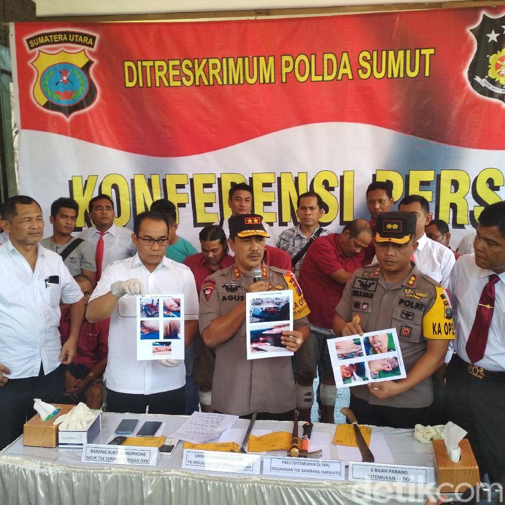 Polisi Tangkap Kelompok Penganiaya Keluarga Pensiunan Polisi di Sumut