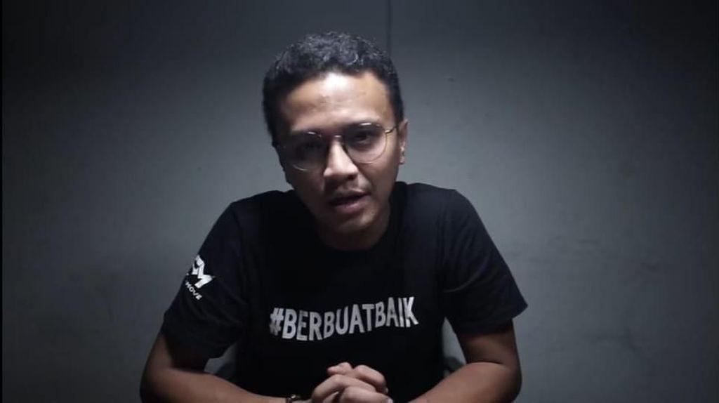 Dikritik Habis, Faldo Jawab Anggapan Caleg Stres hingga Jadi Cebong