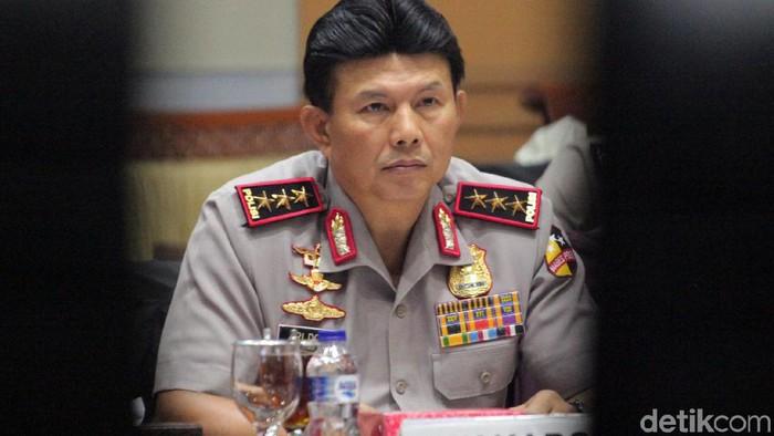 Wakapolri Komjen Ari Dono Sukmanto akan menjadi Plt Kapolri. (Lamhot Aritonang/detikcom)