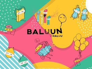 Berhias Balon Warna Warni, Haluu World Bawa Nostalgia Masa Kecil