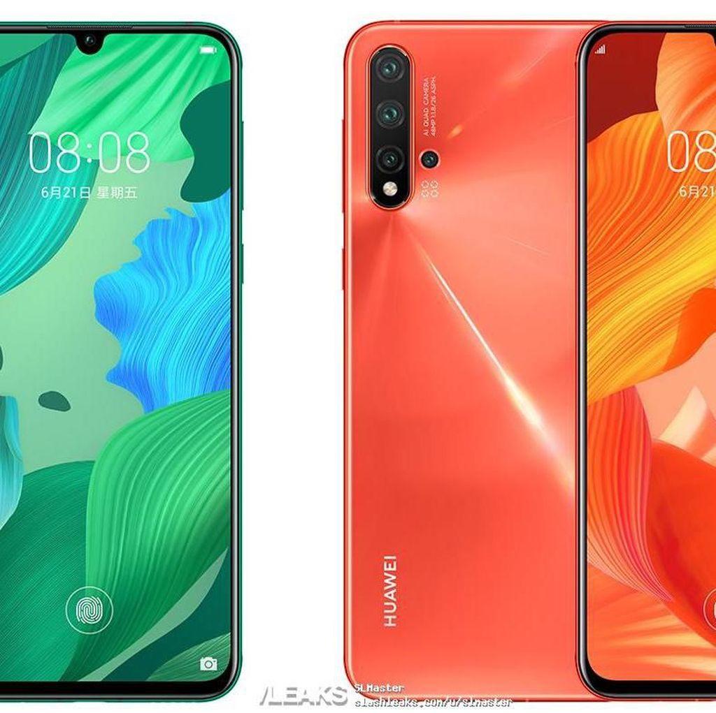 Beredar Wujud Ponsel-ponsel di Huawei Seri Nova 5