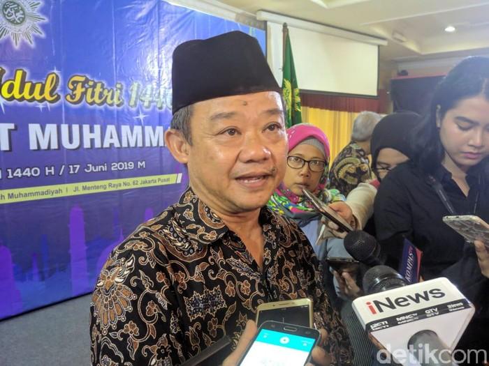 Sekretaris Umum Muhammadiyah Abdul Muti (Jefrie/detikcom)