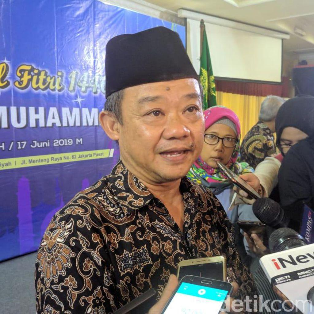 Muhammadiyah Imbau Kubu Jokowi-Prabowo Tenang, Hormati Proses Sidang di MK