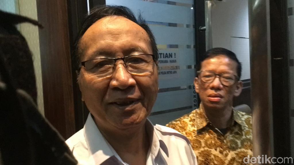 Sofyan Jacob Sakit, Polisi Hentikan Proses Pemeriksaan