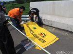 Rok Batik Ditemukan Dekat Potongan Kaki Manusia di Tol Kertosono-Nganjuk