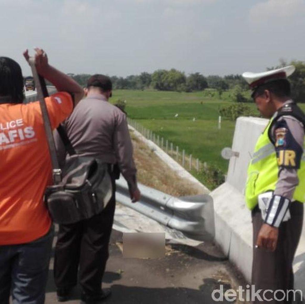 Sampel Potongan Kaki Ditemukan di Tol Kertosono Dikirim ke Polda Jatim