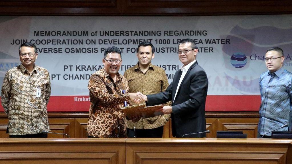 Rogoh Rp 1,5 T, Krakatau Steel Olah Air Laut buat Kebutuhan Industri