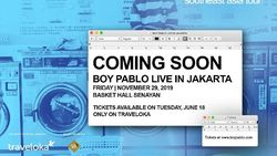 Mau Nonton Konser Boy Pablo di Jakarta? Hapalin Dulu 5 Lagunya