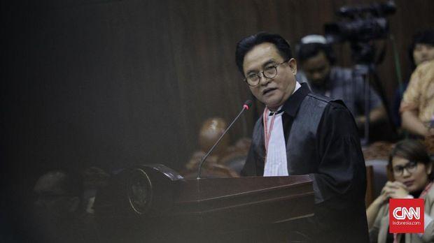 Jokowi Minta MK Tolak Seluruh Gugatan Prabowo-Sandi di MK
