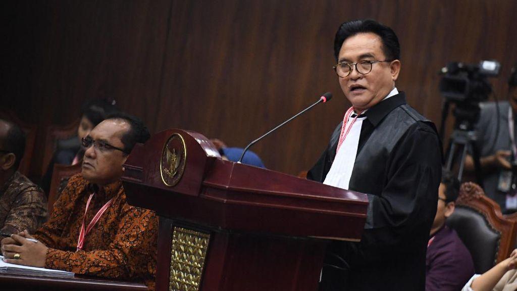 Yusril: Putusan MA Tak Singgung Menang-Tidaknya Jokowi di Pilpres!