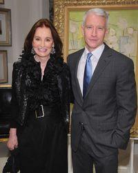 Gloria Vanderbilt dan putranya, jurnalis CNN TV Anderson Cooper.