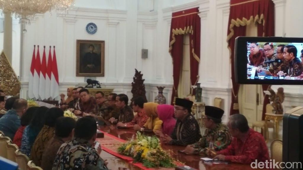 Giliran Pelaku UMKM Sumbang Usulan ke Jokowi