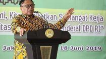 Gelar Halalbihalal, Ketua DPD Bicara Kunci Sukses di Organisasi