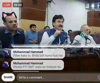 Viral, Wajah Kocak Menteri Pakistan Jadi 'Kucing' saat Konferensi Pers